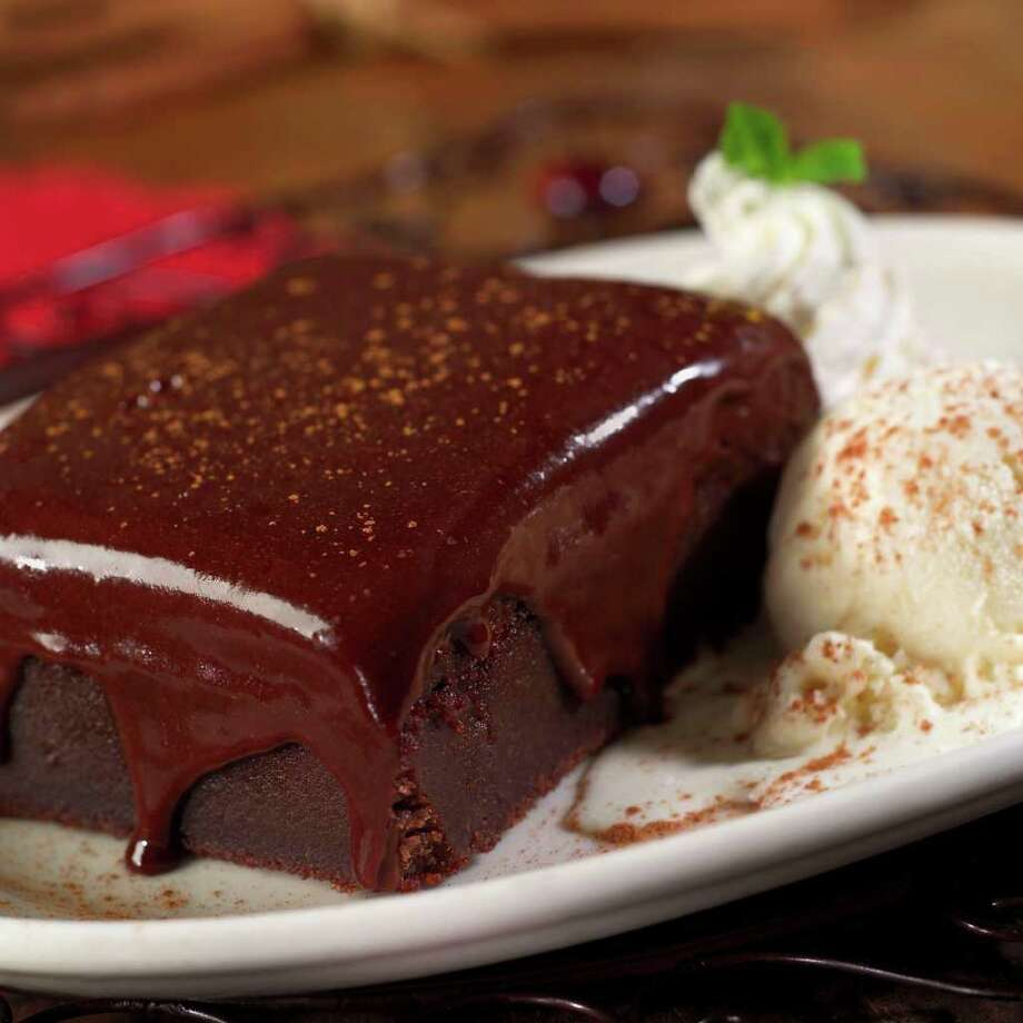 Tiago's Cabo Grille, 8403 Texas 151, 210-647-3600, and 17711 W. I-10, 210-881-2700, is celebrating Valentine's Day by offering a free piece of Mexican chocolate cake, Feb. 13-16, with the purchase of $10 or more. Photo: Courtesy Photo