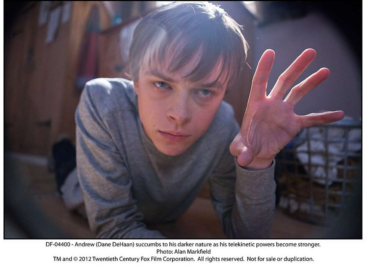 """Andrew (Dane DeHaan) succumbs to his darker nature as his telekinetic powers become stronger in, """"Chronicle."""""""