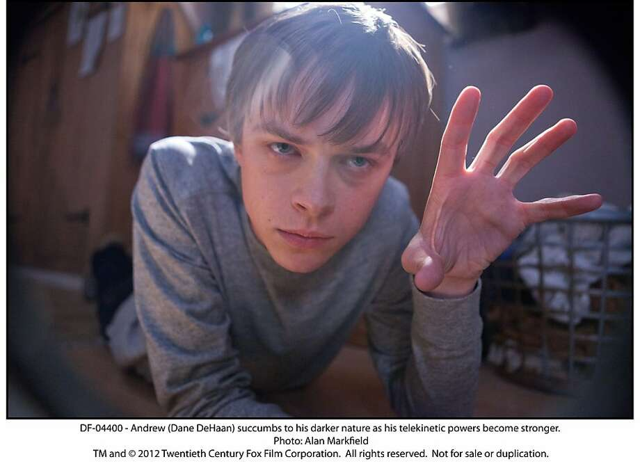 "Andrew (Dane DeHaan) succumbs to his darker nature as his telekinetic powers become stronger in, ""Chronicle."" Photo: Alan Markfield, Twentieth Century Fox"