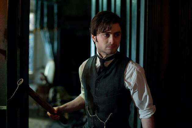 "In this film image released by CBS Films, Daniel Radcliffe is shown in a scene from the supernatural thriller ""The Woman in Black."" (AP Photo/CBS Films, Nick Wall) Photo: Nick Wall, Associated Press"