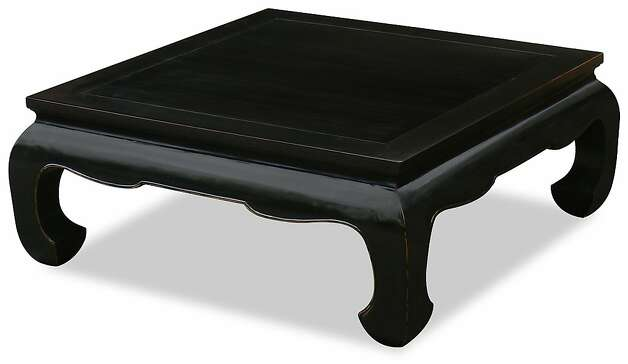 Elmwood Ming Chow-leg table from China Furniture. Photo: China Furniture