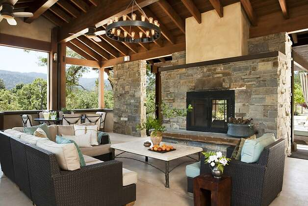 Indoor Outdoor Fireplace Double Sided