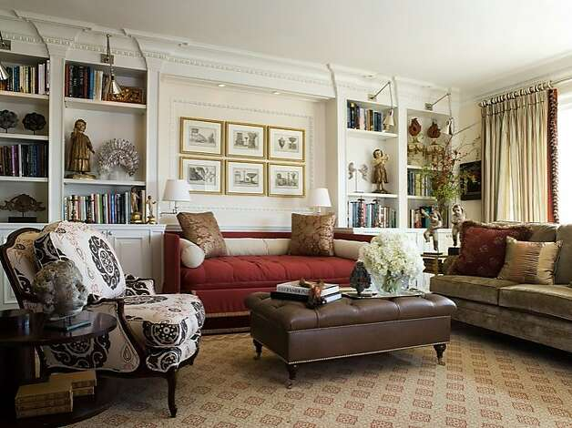 Antonio Martins turned a rustic 1960s Nob Hill addition into an opulent family room. Photo: David Duncan Livingston
