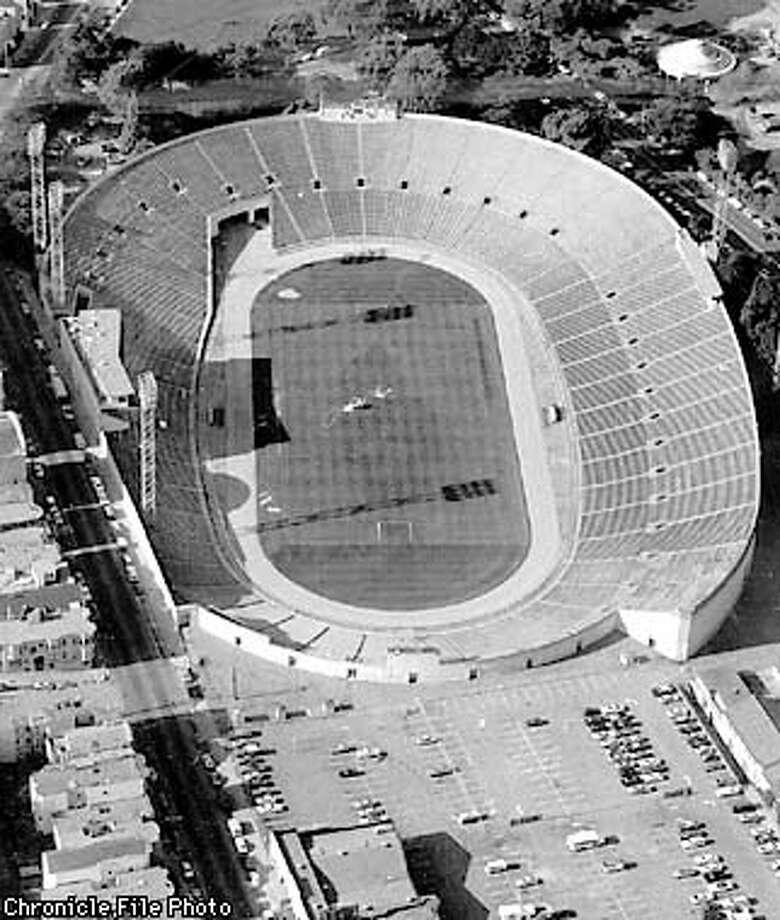 Aerial photo of Kezar Stadium.  (Chronicle File Photo) Photo: HANDOUT