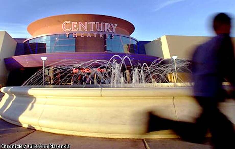 MULTIPLEX01B-C-16DEC00-DD-JP Child runs around a fountain in front of the Century Theatres, a new 20-theatre megaplex in the Milpitas Great Mall. (JULIE PLASENCIA/SAN FRANCISCO CHRONICLE) Photo: JULIE PLASENCIA