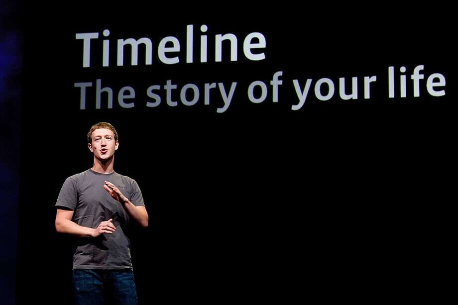 FILE: In this file photo Mark Zuckerberg, chief executive officer and founder of Facebook Inc., speaks at Facebook's F8 developers conference in San Francisco, California, U.S., on Thursday, Sept. 22, 2011. A Facebook IPO would provide funds to help the social-networking service maintain its expansion and fend off competition from Internet rivals such as Google Inc. and Twitter Inc. Photographer: David Paul Morris/Bloomberg *** Local Caption *** Mark Zuckerberg Photo: David Paul Morris, Bloomberg