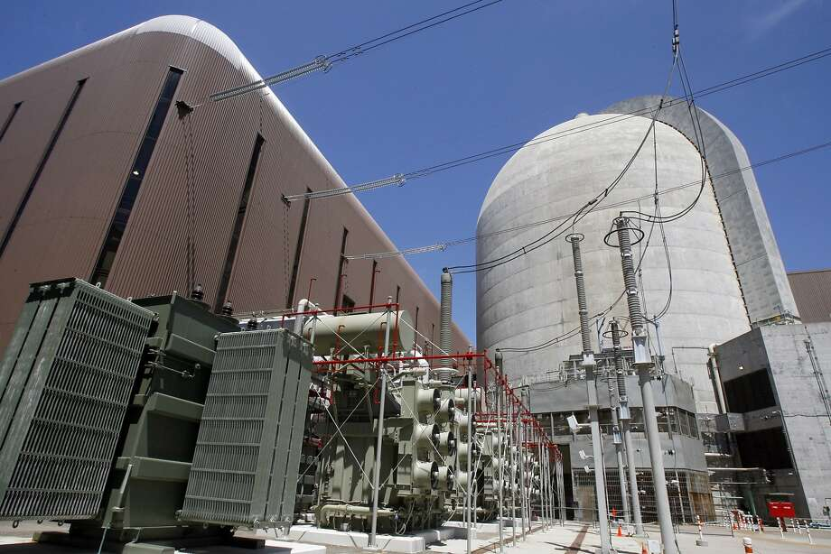 PG&E's Diablo Canyon nuclear power plant in Avila Beach in May 2006. Photo: Paul Chinn, The Chronicle