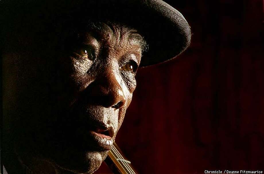 Bluesman John Lee Hooker has released a new album with musicians such as Bonnie Raitt. He will also be playing at Stanford at the end of October. CHRONICLE PHOTO BY DEANNE FITZMAURICE Photo: DEANNE FITZMAURICE