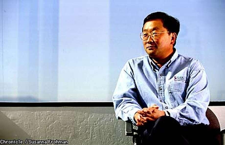 John Chen, President of Sybase. (CHRONICLE PHOTO BY SUSANNA FROHMAN) Photo: SUSANNA FROHMAN