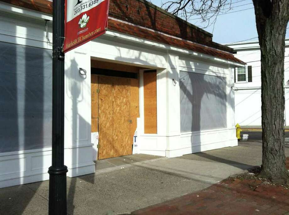 A variance sought by John Karageorge, the owner of several commercial properties in Fairfield, for a proposed rooftop patio on top of the former space of Las Vetas Lounge failed to pass the Zoning Board of Appeals on Feb. 2. The variance, which needed a supermajority vote of 4-1 but received only a vote of 3-2, would have waived a requirement for 10 additional parking spaces needed for the patio and the building's streetline and rearyard setback, both of which are less than regulations allow. Photo: Michael C. Juliano/Staff Photo