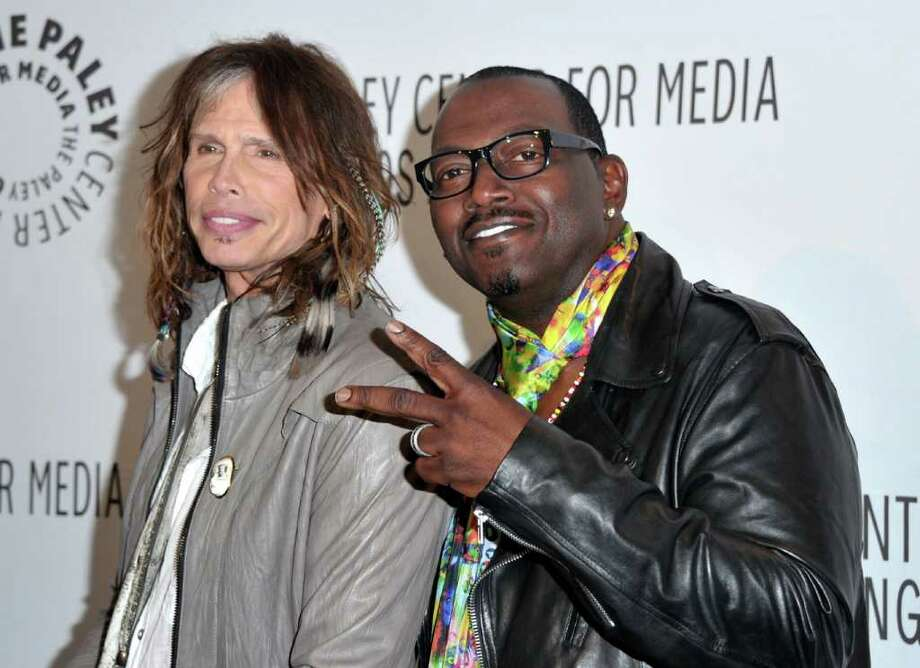 "BEVERLY HILLS, CA - MARCH 14:  American Idol Judges Steven Tyler and Randy Jackson arrive at Paley Center for Media's Paleyfest 2011 event honoring ""American Idol"" held at Saban Theater on March 14, 2011 in Beverly Hills, California.  (Photo by Alberto E. Rodriguez/Getty Images) *** Local Caption *** Steven Tyler;Randy Jackson Photo: Alberto E. Rodriguez, Getty Images / 2011 Getty Images"