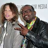 "BEVERLY HILLS, CA - MARCH 14:  American Idol Judges Steven Tyler and Randy Jackson arrive at Paley Center for Media's Paleyfest 2011 event honoring ""American Idol"" held at Saban Theater on March 14, 2011 in Beverly Hills, California.  (Photo by Alberto E. Rodriguez/Getty Images) *** Local Caption *** Steven Tyler;Randy Jackson"