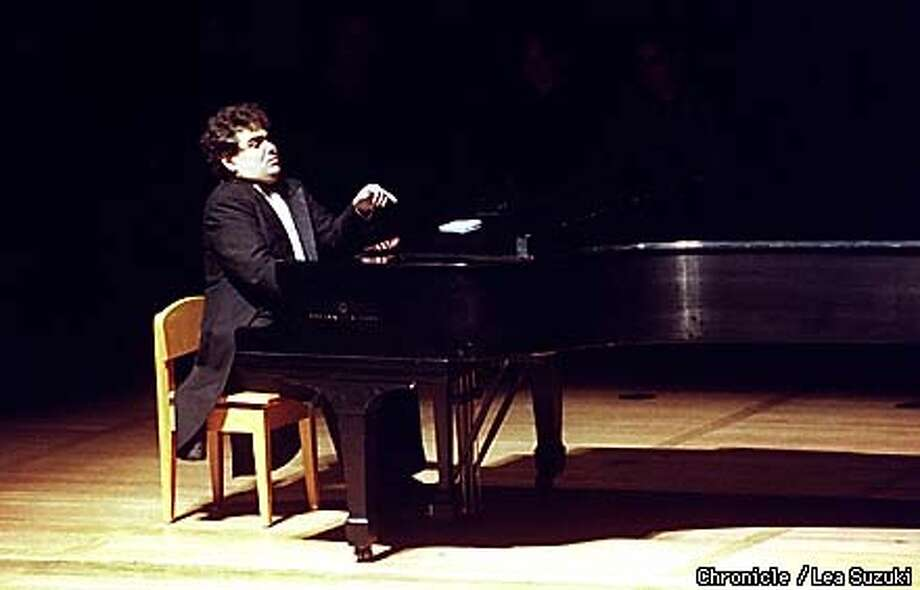 Arcadi Volodos gives first local recital at Hertz Hall in Berkeley on Sunday. Photo By Lea Suzuki Photo: LEA SUZUKI