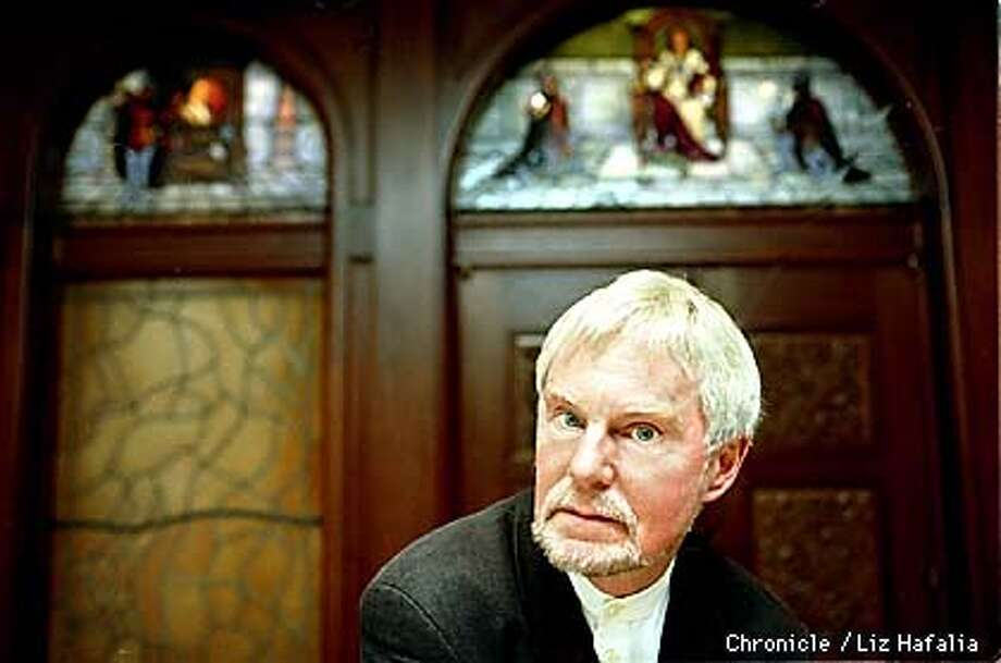 Derek Jacobi, famous British actor, is a real-life knight who's been noted for various roles in his career. He's here promoting a new movie about knights. Photo by Liz Hafalia Photo: LIZ HAFALIA