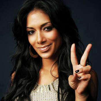 """46: Singer and former """"X-Factor"""" judge Nicole Sherzinger"""