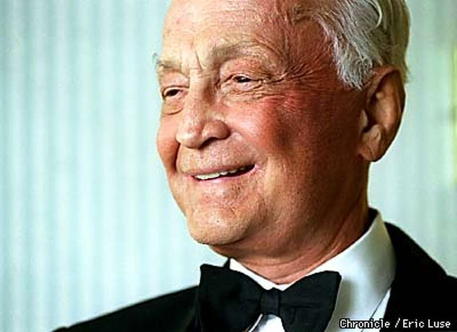 Sir John Templeton at the Fairmont in San Francisco.  BY ERIC LUSE/THE CHRONICLE Photo: ERIC LUSE