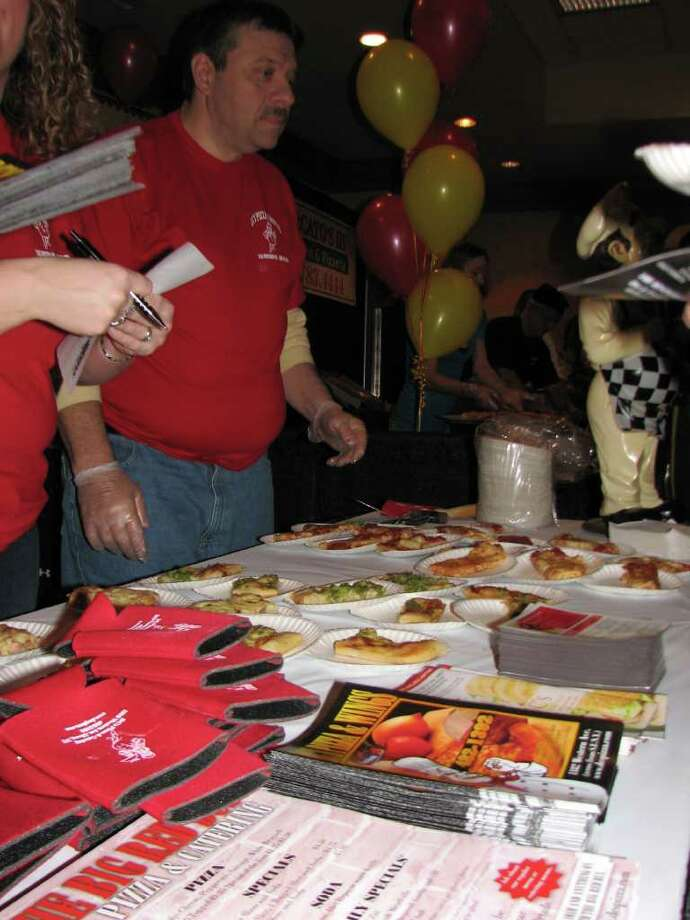 Were you Seen at the 2nd Annual Pizza Wars at the Wolf Road Holiday Inn on Thursday, Feb. 2, 2012? Photo: Kristi Gustafson Barlette/Times Union