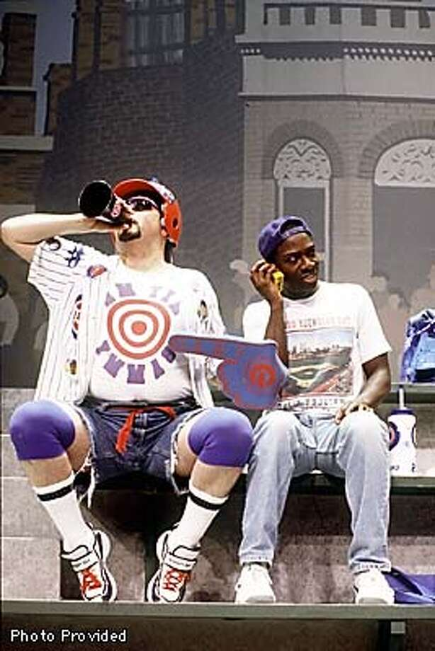 Harry Water, Jr. and Soren Oliver are two die-hard Cubs fans in BLEACHER BUMS at the Marin Theatre Company.  HANDOUT Photo: HANDOUT