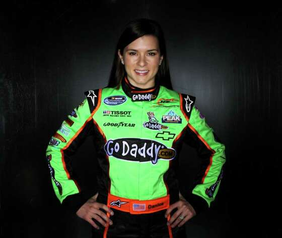 Danica Patrick: She not only drives a GoDaddy-sponsored NASCAR car, she's also the current star of their Super Bowl commercials. Watch the ad here. Photo: Nick Laham, Getty Images For NASCAR / 2011 Getty Images