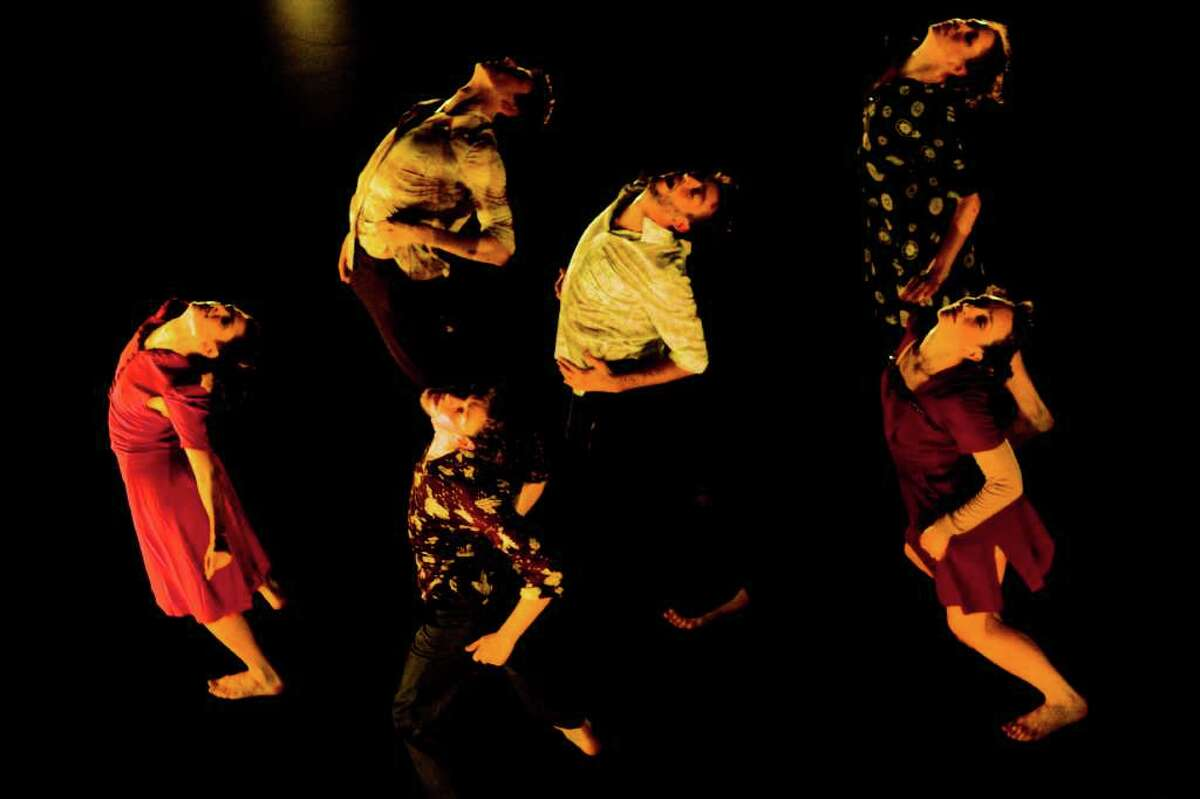 Gallim Dance, Andrea Miller's New York-based company, caps off Dance Month at the Kaplan Theatre on Saturday.