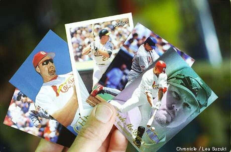 Mark McGwire Baseball cards. Photo By Lea Suzuki Photo: FRED LARSON