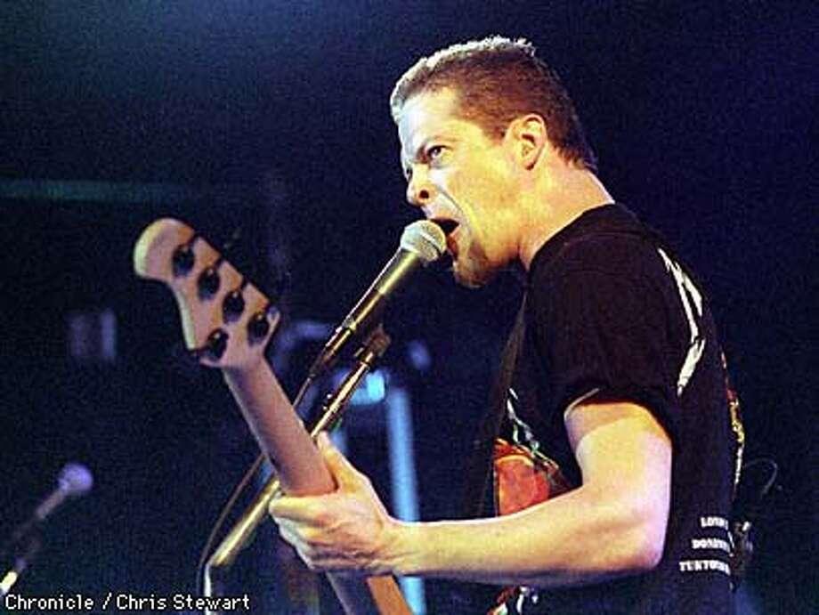 Metallica performs at Slim's. Photo: CHRIS STEWART