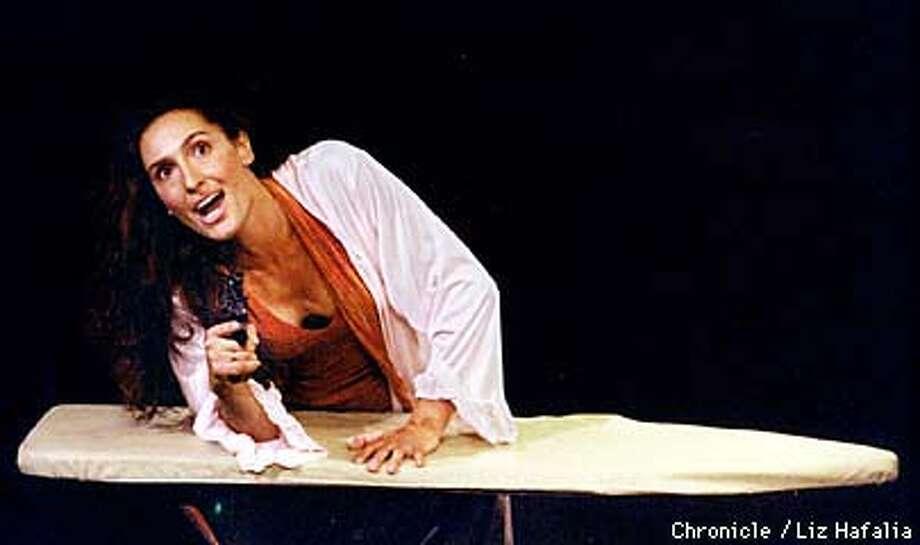 Francesca Fanti is the solo performer in 'Orgasmo Adulto' playing at the Marsh. Photo by Liz Hafalia Photo: LIZ HAFALIA