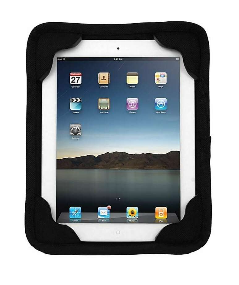 The Extreme Edge for iPad protective jacket is made of a material that maker G-Form says absorbs more than 90 percent of the energy from a high-speed impact. Photo: G-Form