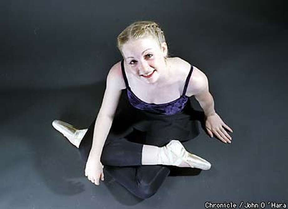 Andrea Basile, SF Ballet  BY JOHN O'HARA/THE CHRONICLE