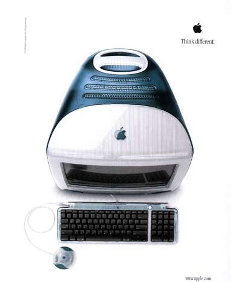APPLE AD 6/C/18AUG98/BU/HO  EXAMPLE FROM APPLE'S NEW TV AD CAMPAIGN FOR IMAC