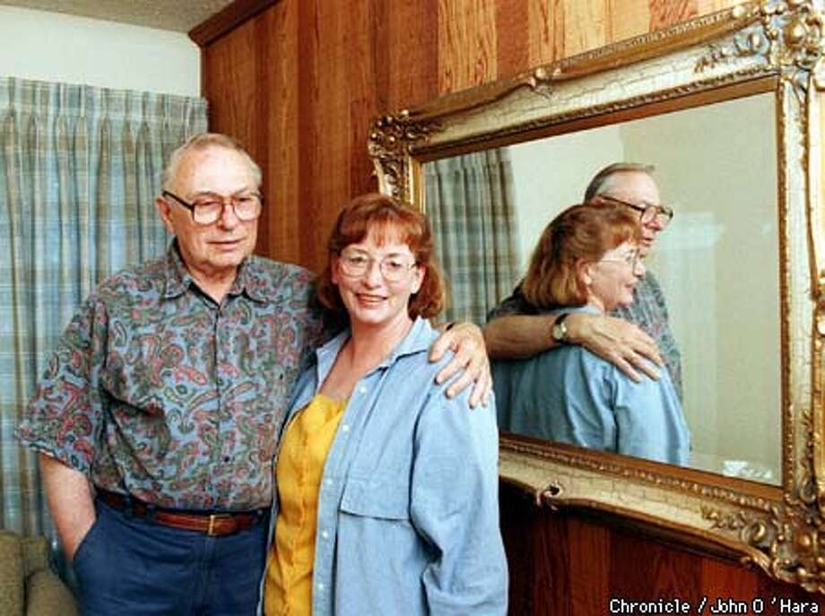 "SAN RAFEAL, ""Frank Worthen"", founder of New Hope Ministries and his wife ""Anita"", both who are active in the effort to overcome homosexuality.  BY JOHN O'HARA/THE CHRONICLE Photo: JOHN O'HARA"
