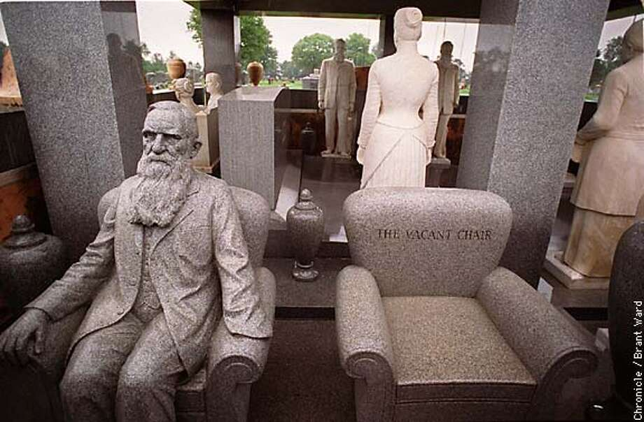 DAY 2 KANSAS: IN HIAWATHA, JUST OFF THE GOLD RUSH TRAIL, A SPENDTHRIFT NAMED JOHN M. DAVIS HAS 11 LIFESIZED STATUES OF HIMSELF AND HIS WIFE ALL SHOWING THE HAPPY COUPLD IN VARIOUS STAGES OF THEIR LONG MARRIAGE. BY BRANT WARD/THE CHRONICLE Photo: BRANT WARD