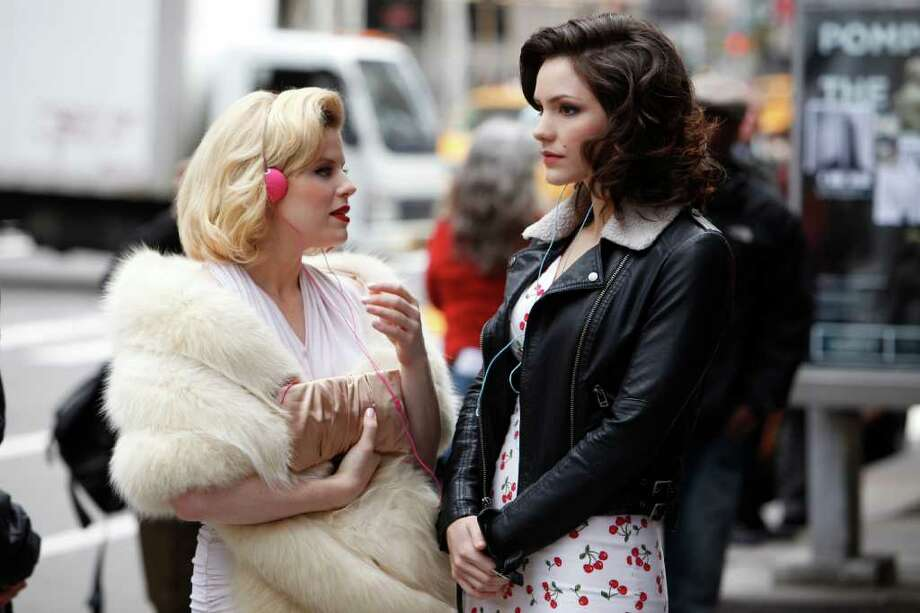 """Megan Hilty portrays Ivy Lynn (left) and Katharine McPhee portrays Karen Cartwright in the new series """"Smash,"""" which revolves around the creation of a Broadway show. Photo: Courtesy, NBC / ?NBCUniversal, Inc."""
