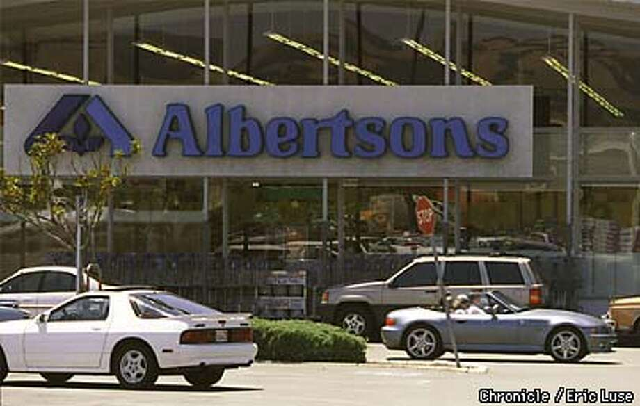Albertson's bought Lucky's. This is the Petaluma Albertsons.  BY ERIC LUSE/THE CHRONICLE Photo: ERIC LUSE