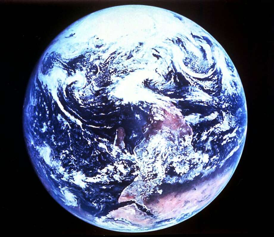 "In the last 25 years, activists have been pleading for the rise of a new ""conservative generation"" to care for the fragile environment. On April 22, millions of Americans will celebrate Earth Day's silver anniversary with parades and protests, calling attention to the good, the bad, and the ugly. An image of the planet Earth as photographed from the Apollo 17 spacecraft during the final lunar landing mission in NASA's Apollo program in 1972. Photo: Associated Press"