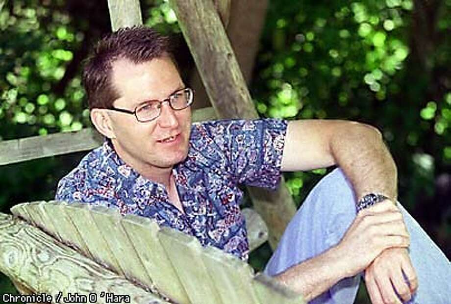 DAVE PELZER, AUTHOR two books on NYT best seller list and also gives motivational speeches. Photographed in Monte RIo  at a beach resort.  Photo by.........john O'Hara