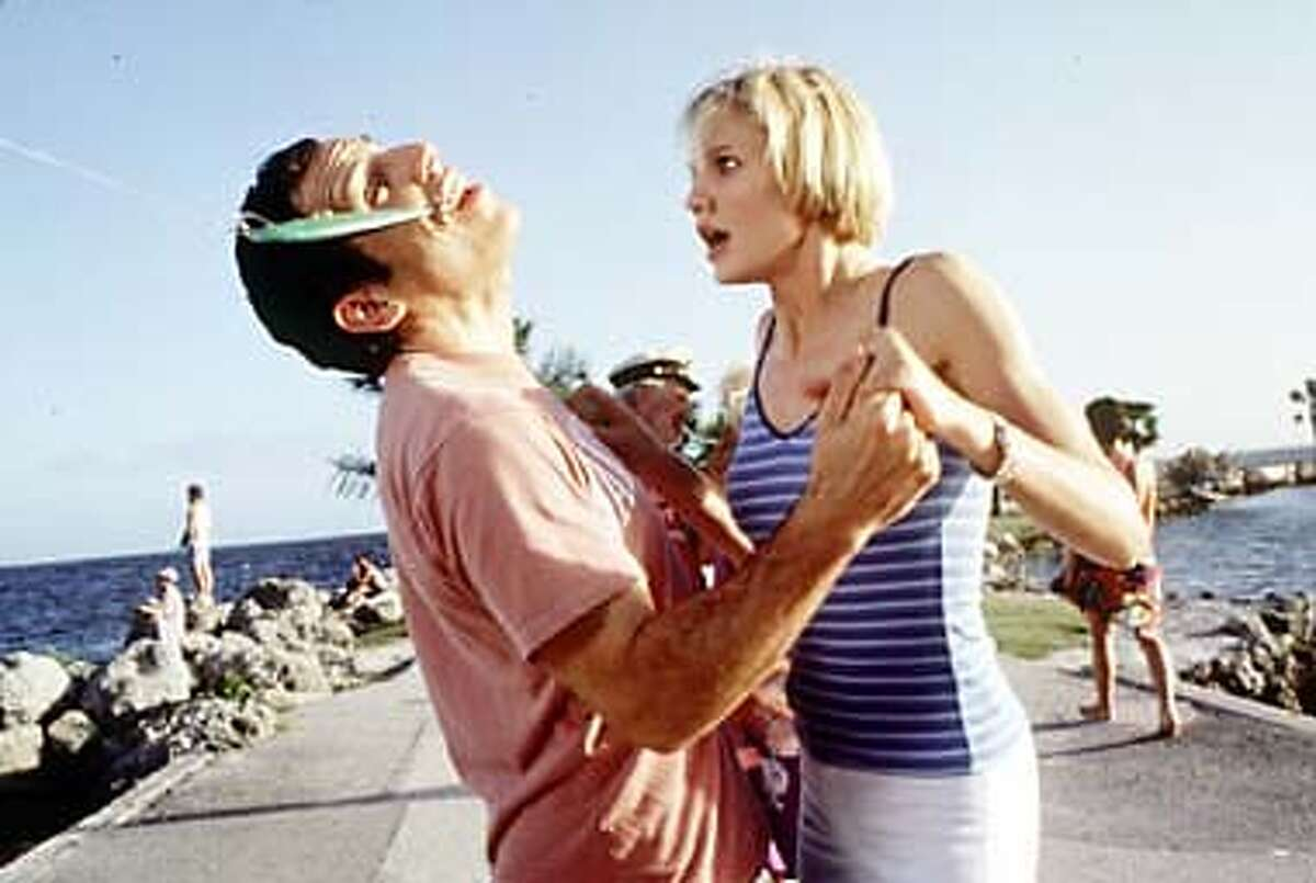 Cameron Diaz has Ben Stiller hook, line and sinker in the comedy ``There's Something About Mary,'' by the directors of ``Dumb and Dumber.''