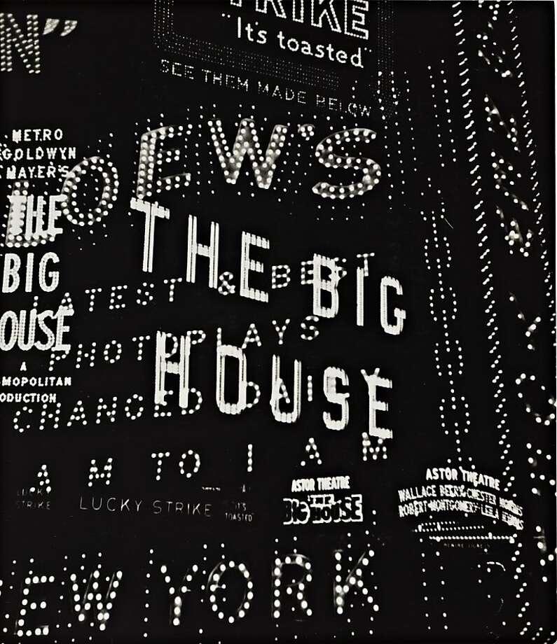 """Broadway"" (1930) Gelatin silver print by Walker Evans.   Lent by Elizabeth and Robert J. Fisher Photo: Walker Evans"