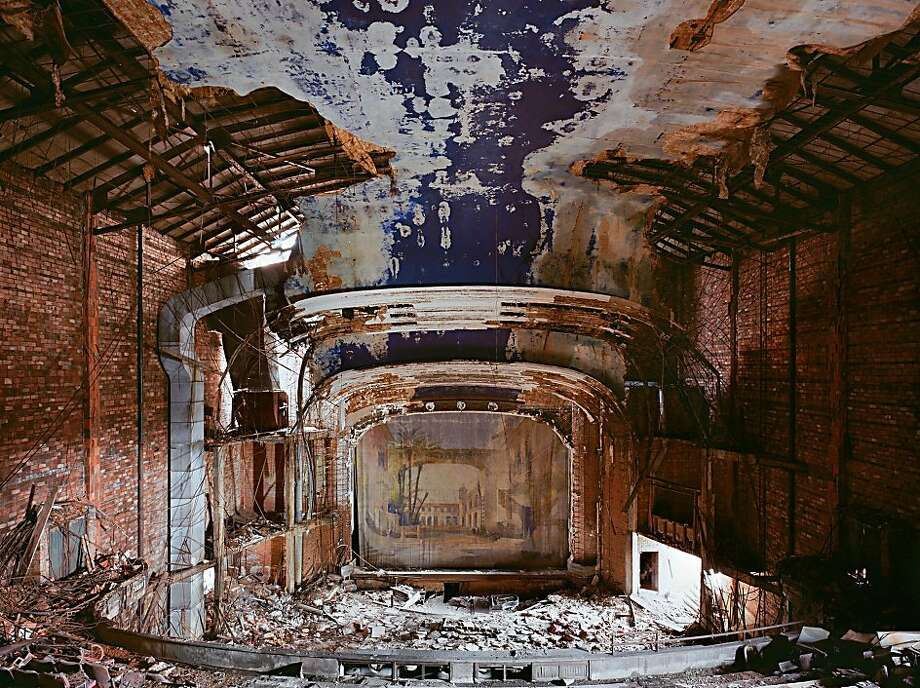 """Palace Theater, Gary"" (2009) archival pigment print by Katherine Westerhout   56"" x 72"" Photo: Katherine Westerhout"