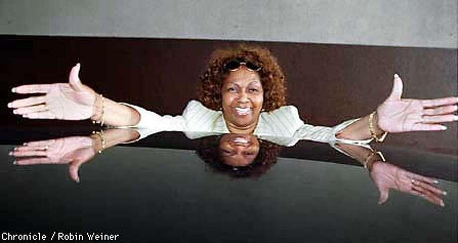 Cissy Houston, Mother of Whitney, on book tour.  Photo by...John O'Hara