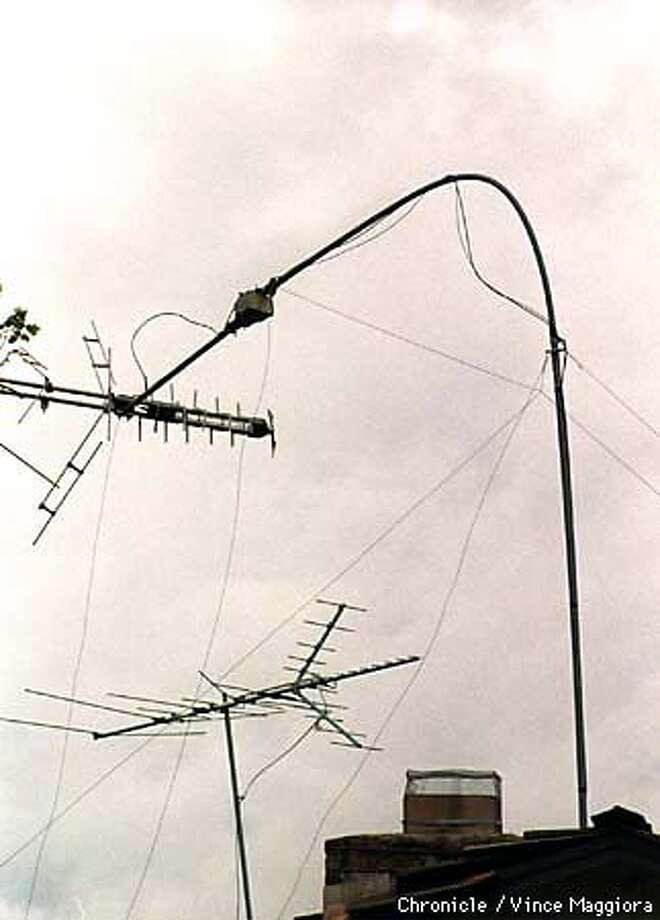 = Storm damange on Alicia Way in Los Altos,. by Vince Maggiora Photo: VINCE MAGGIORA