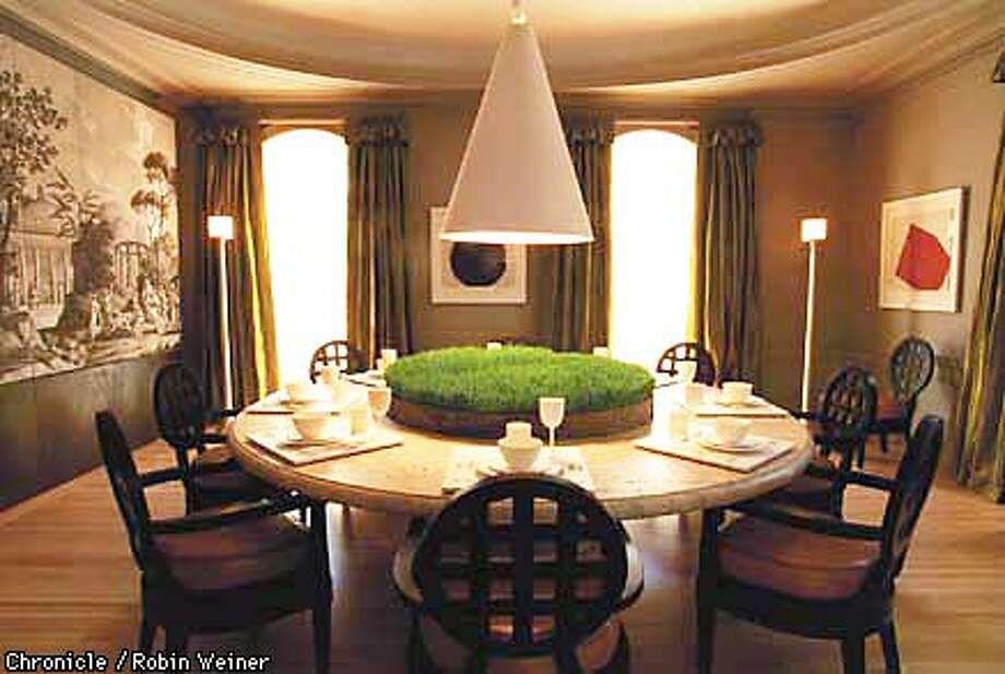 Dining Room by Orlando Diaz-Azcuy. Robin Weiner/The Chronicle