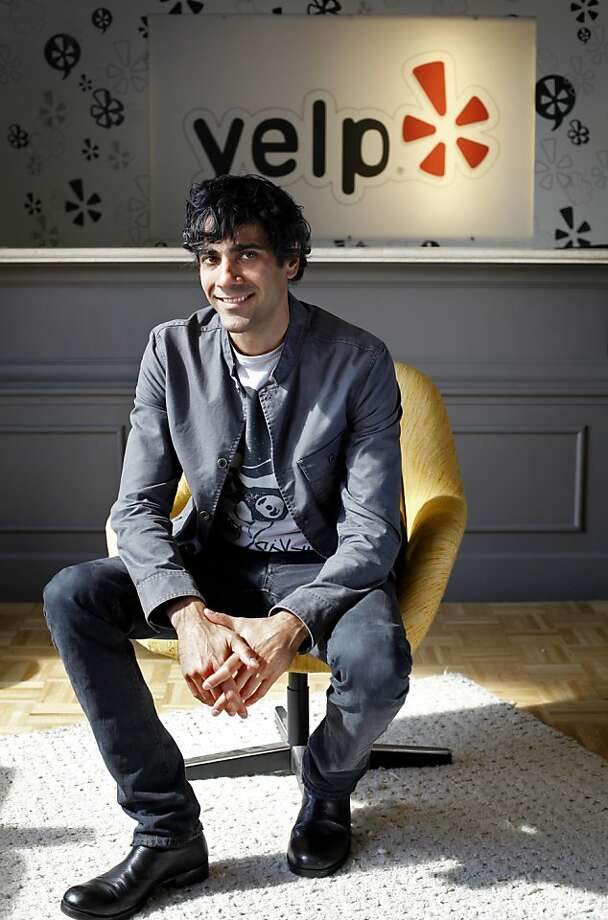 Yelp CEO Jeremy Stoppelman is photographed at the company's headquarters in San Francisco, Calif., Thursday, October 6, 2011. Photo: Sarah Rice, Special To The Chronicle