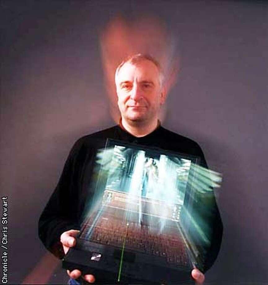 "Author Douglas Adams has created a new CD-ROM game called ""Starship Titanic."" SAN FRANCISCO CHRONICLE PHOTO BY CHRIS STEWART Photo: CHRIS STEWART"