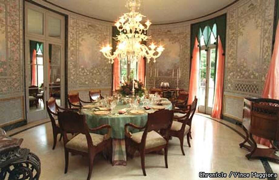Crosby decorator showhouse in Hillsborough DINNING ROOM . by Vince Maggiora Photo: VINCE MAGGIORA