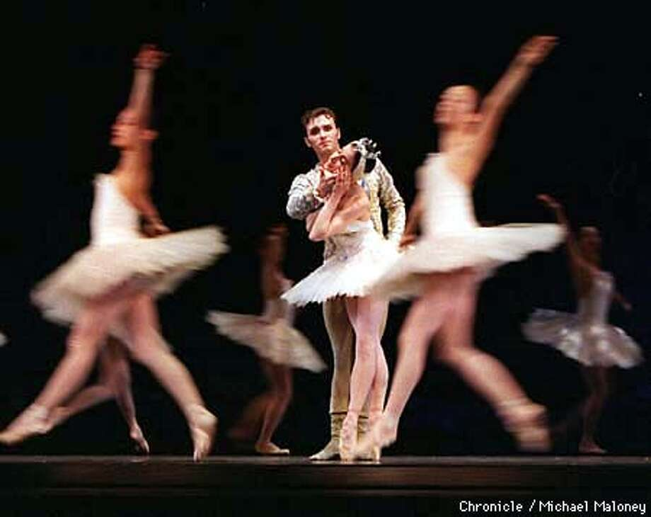 SF Ballet's Swan Lake principal dancers Joanna Berman and Cyril Pierre.  Photo by Michael Maloney Photo: MICHAEL MALONEY