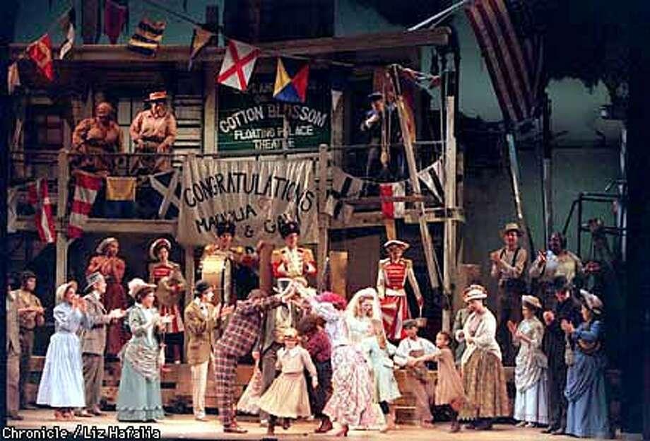 'Showboat' at the Orpheum. This is act one finale--The Wedding Celebration. Liz Hafalia Photo: Liz Hafalia