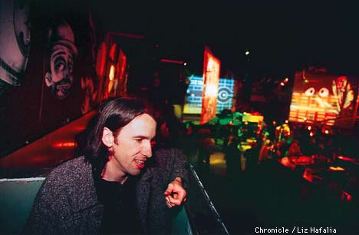 Justice League club owner Michael O'Connor. Photo by Liz Hafalia