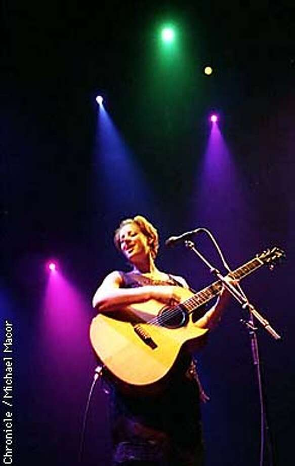 Sarah McLachlan plays San Jose Event Center. By Michael Macor/The Chronicle Photo: MICHAEL MACOR