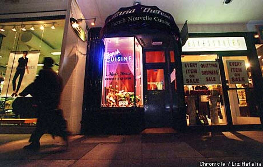 retaurant review/Maria Therese restaurant/SF, 2034 Chestnut St. Photo by Liz Hafalia Photo: Liz Hafalia